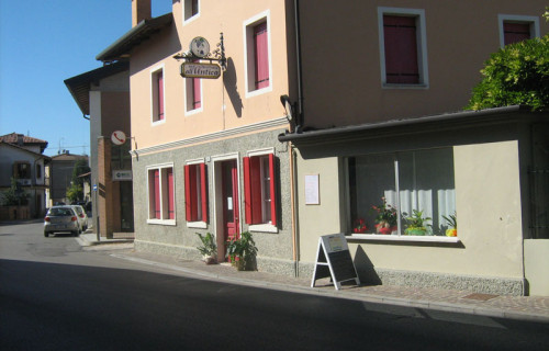 "Trattoria  ""ALL'ANTICA"""