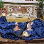Presepe chiesa di Camino